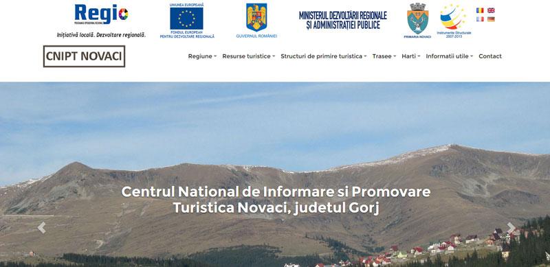 Lansare site CNIPT Novaci
